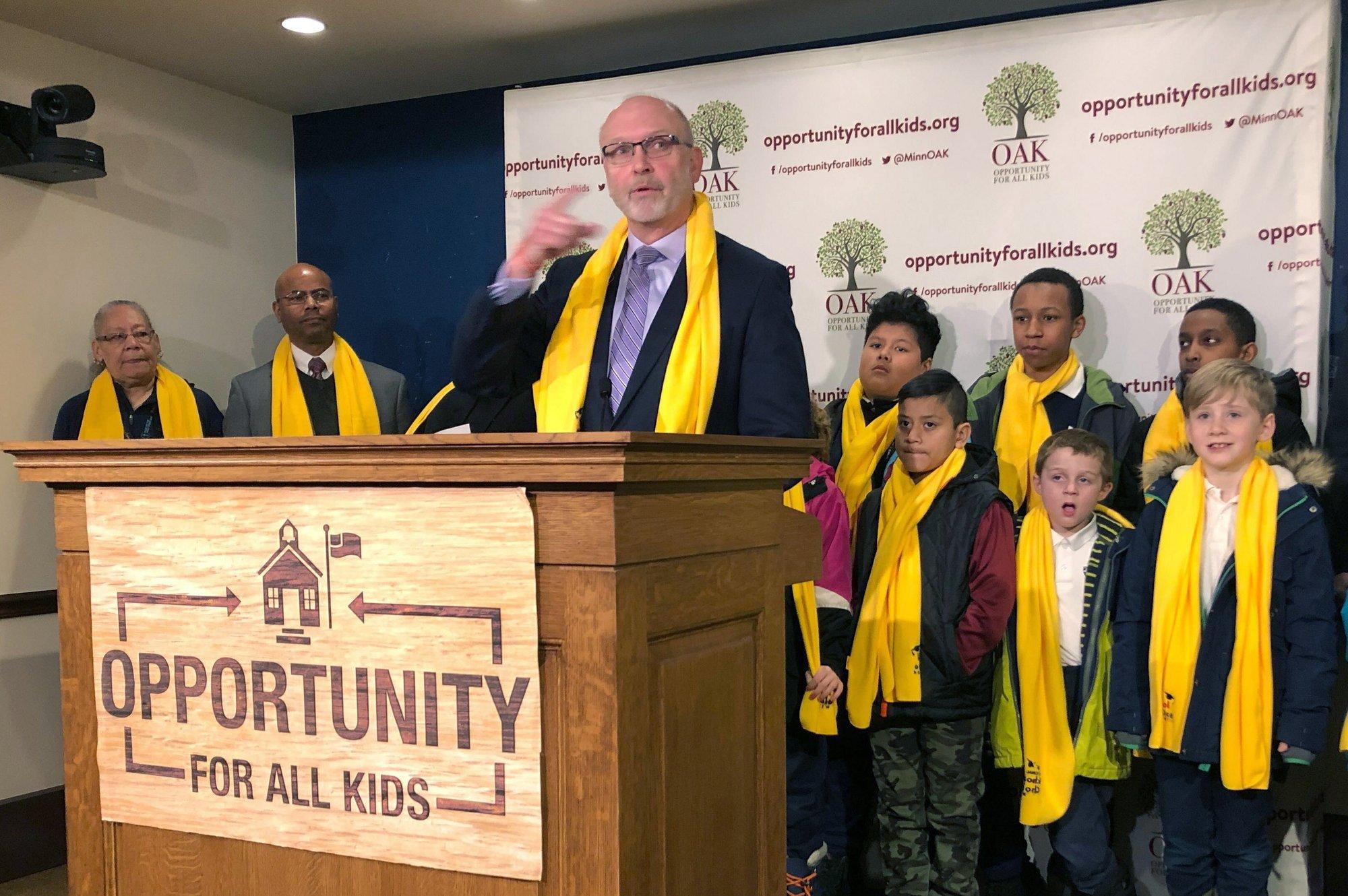 Senate Republicans revive private school scholarships plan