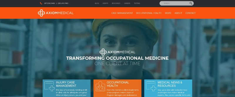 Axiom Medical Launches a New and Innovative Website