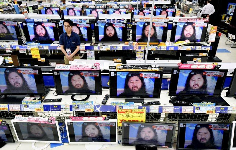 Japan executes doomsday cult leader and six followers