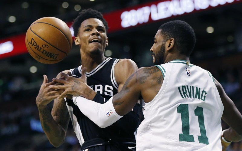 Dejounte Murray, Kyrie Irving