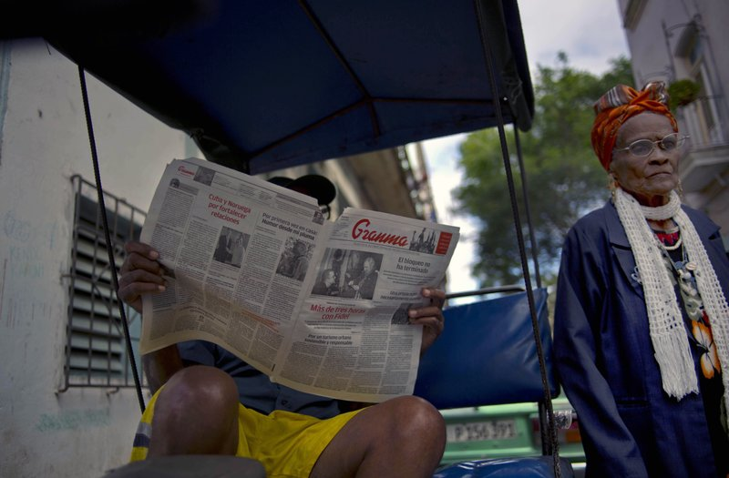 Cuba reduces newspaper length due to paper shortage