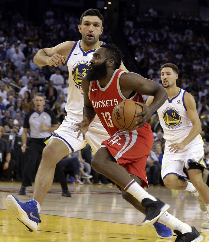 James Harden, Zaza Pachulia