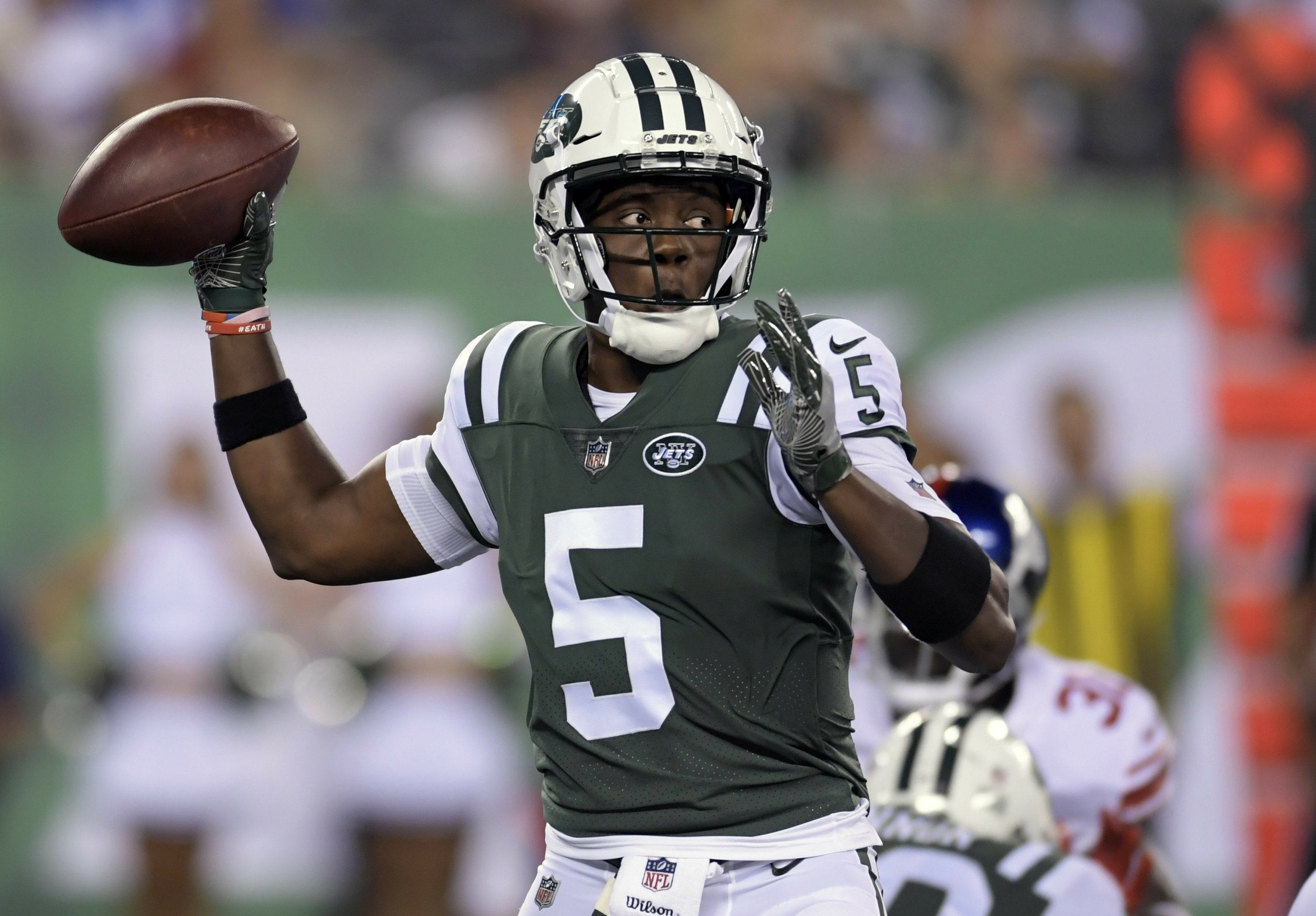 separation shoes 1f9ea 7756b Saints acquire QB Teddy Bridgewater from Jets