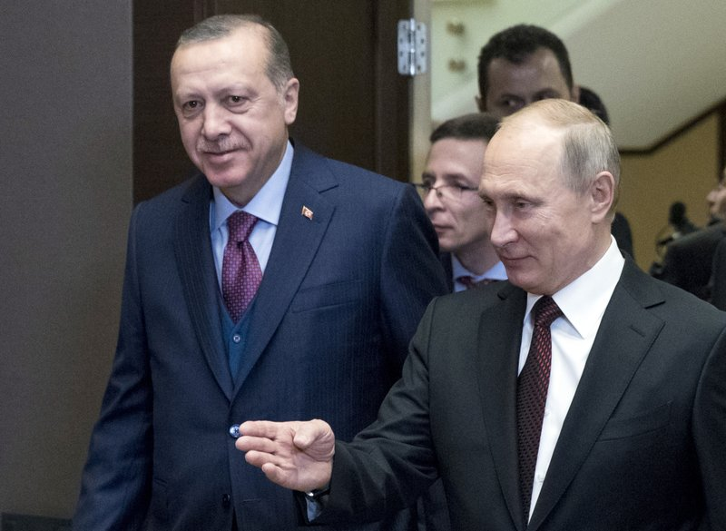 Syria providing ground for closer Turkey-Russia relations
