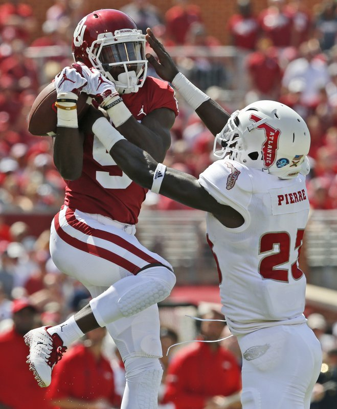 Marquise Brown, James Pierre