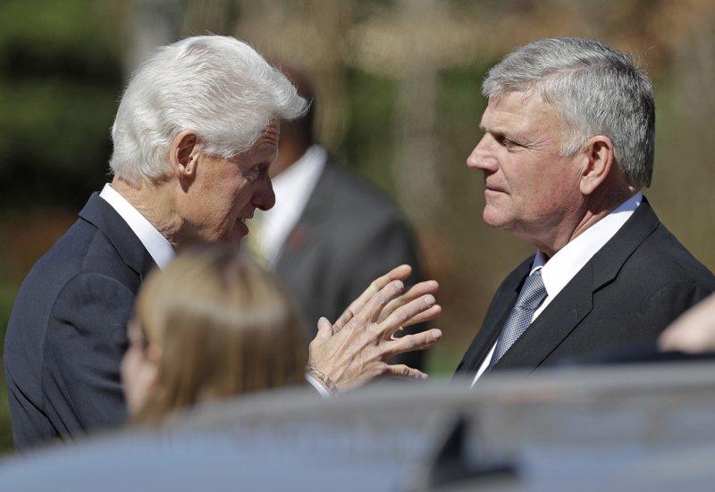 Bill Clinton, Franklin Graham