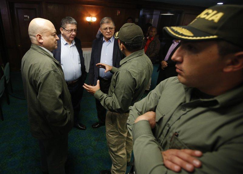 Carlos Antonio Losada, Pablo Catatumbo, Rodrigo Granda