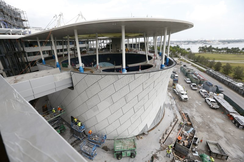 New Science Museum Miami >> After Financial Setback 305m Miami Science Museum Rises