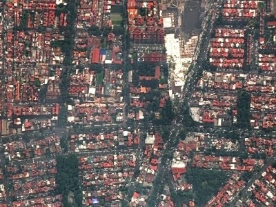 Satellite Captures Quake Damage In Mexico