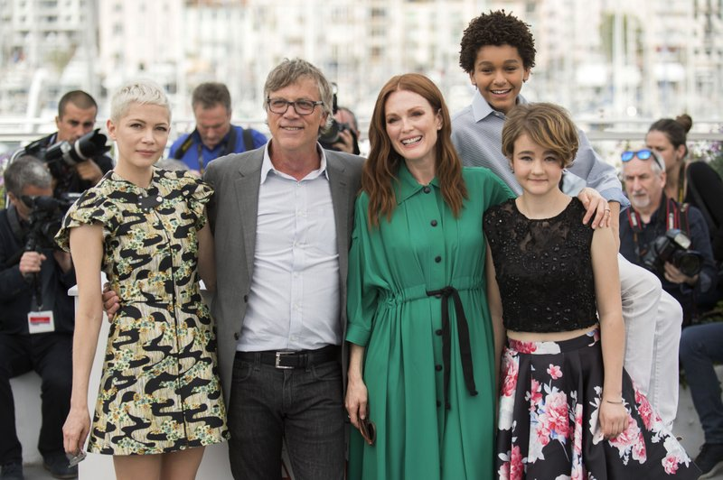 Michelle Williams, Todd Haynes, Julianne Moore, Jaden Michael, Millicent Simmonds