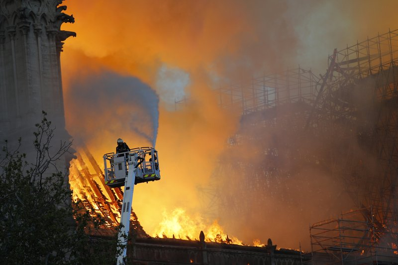 Image result for Notre Dame's Age, Design Fueled Fire and Foiled Firefighters
