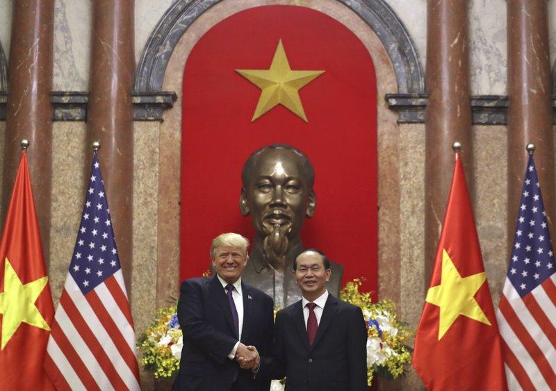 Donald Trump, Tran Dai Quang