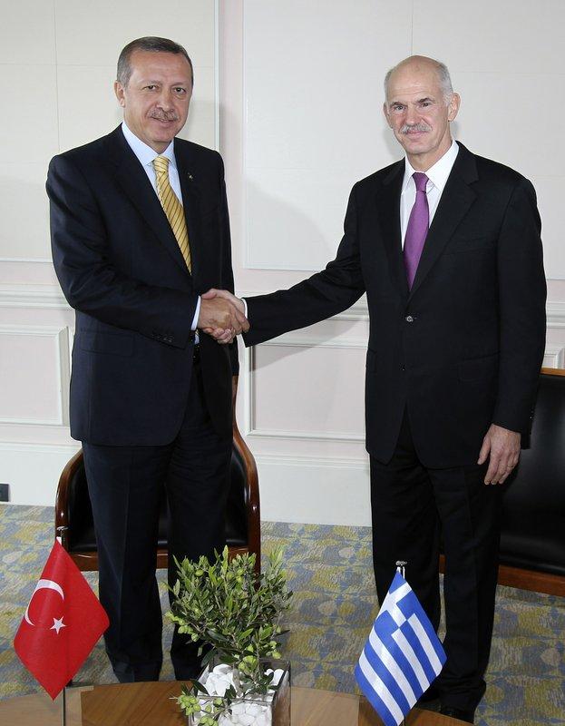 George Papandreou, Recep Tayyip Erdogan