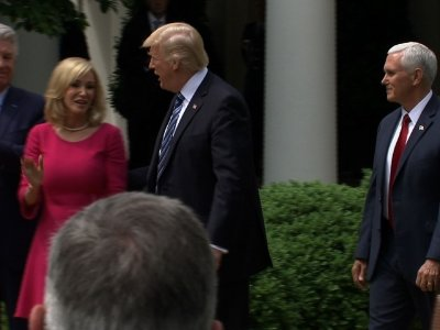 Trump Targets IRS Rule on Churches
