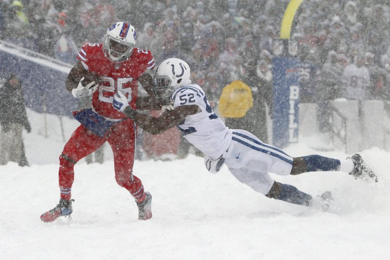Mccoy Scores To Seal Bills 13 7 Ot Win Over Colts