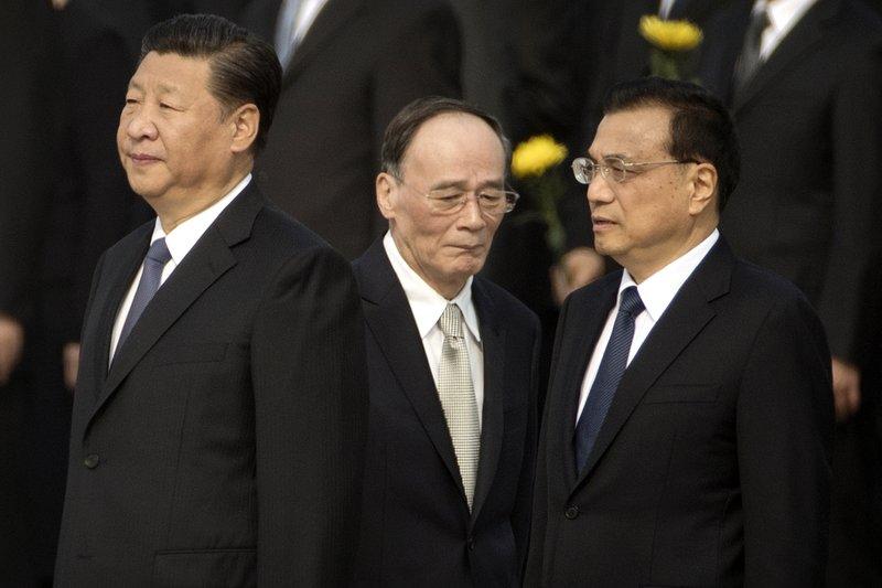 Xi Jinping, Li Keqiang, Wang Qishan