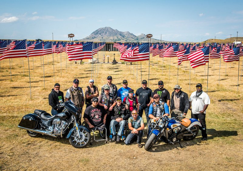Indian Motorcycle Sponsors Fourth Annual Veterans Charity Ride to Sturgis