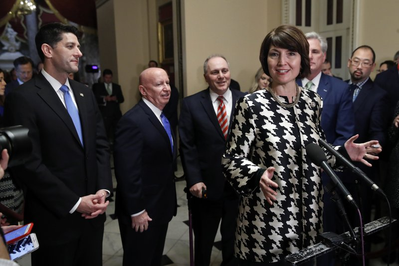 Paul Ryan, Kevin Brady, Kevin McCarthy, Cathy McMorris Rodgers, Steve Scalise