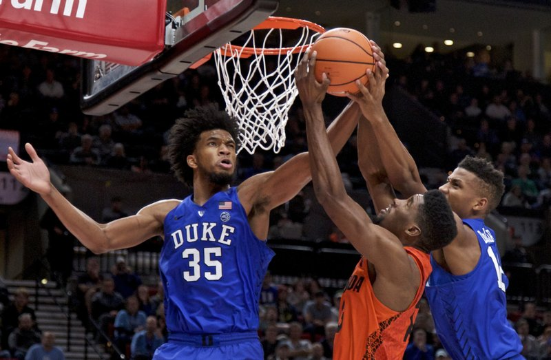 2611c5258e5 Top-ranked Duke rallies for 87-84 victory over No. 7 Florida