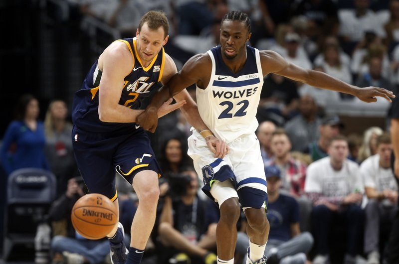 Joe Ingles, Andrew Wiggins