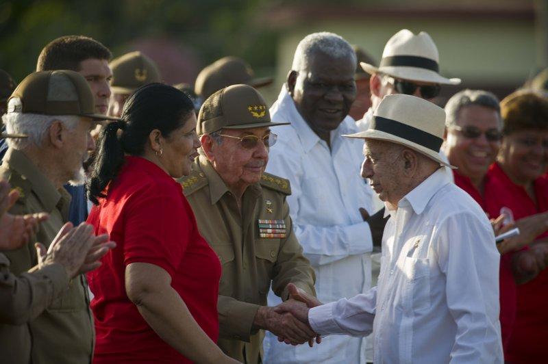 Raul Castro,Jose Ramon Machado Ventura