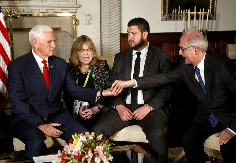 Mike Pence, Antonio Ledezma