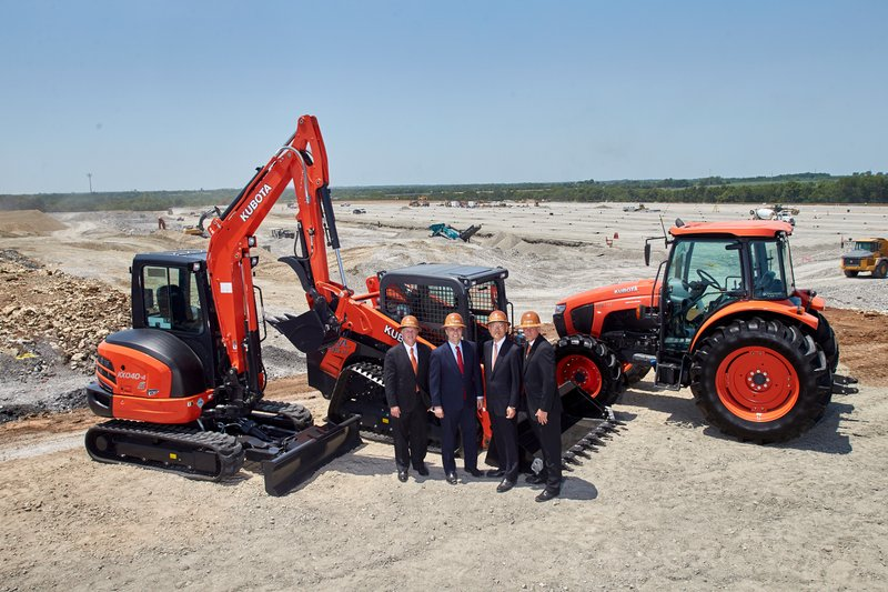 Kubota Tractor Corporation Completes Land Purchase for Future Logistics Campus and Midwest Division Office in Edgerton, Kansas