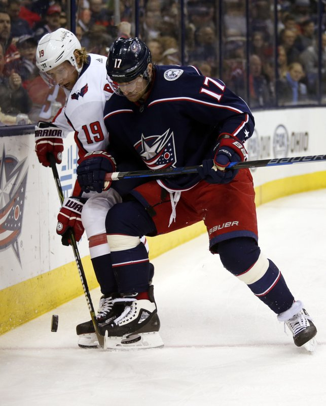 Brandon Dubinsky, Nicklas Backstrom