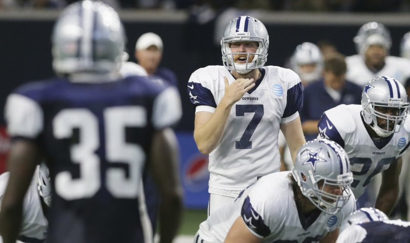 wholesale dealer e15b9 082b5 Rush to judgment: Cowboys QB could be surging to backup role