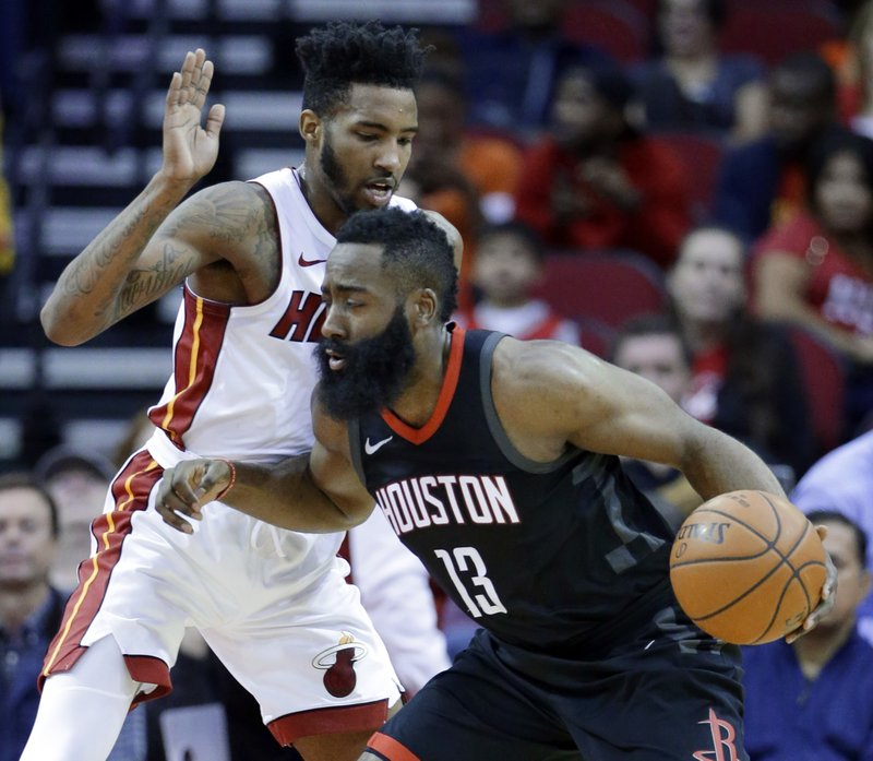 Derrick Jones Jr., James Harden