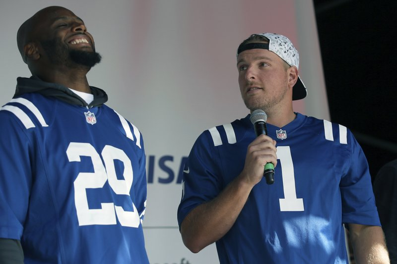 official photos 9eb6e c3416 Former Colts punter hopes to find his voice on television