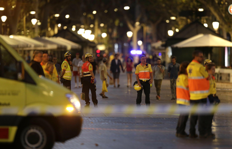 The Latest: VP Pence calls Barcelona attack 'horrific'
