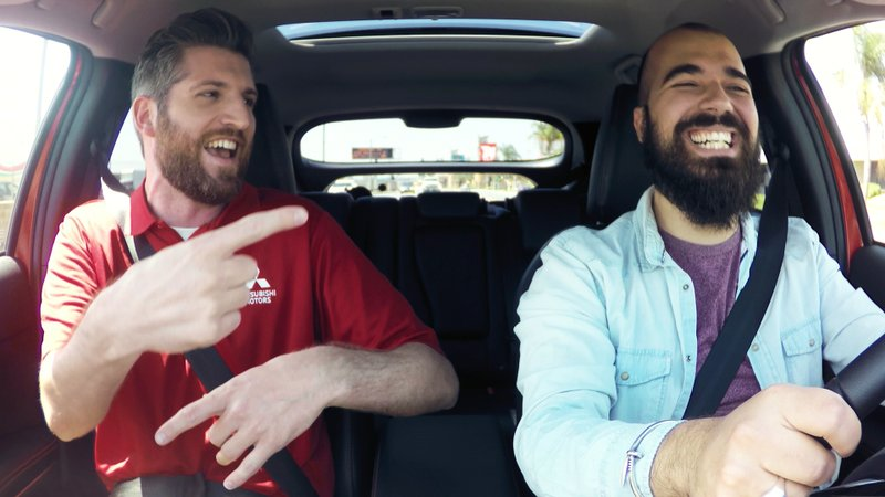 Mitsubishi Motors Launches National Marketing Campaign Featuring Rap Artist Harry Mack's Freestyle Test Drives