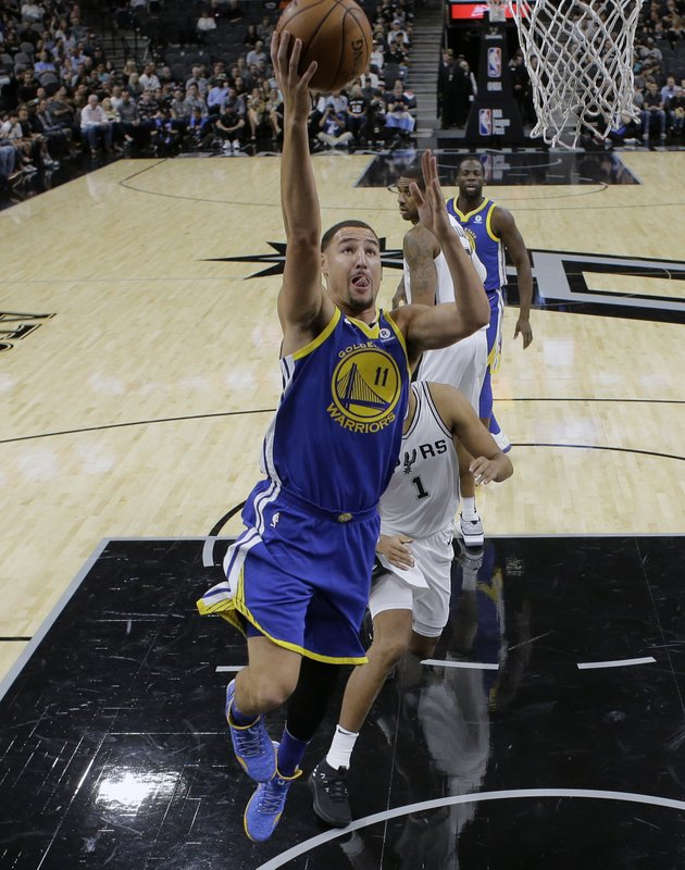 Klay Thompson, Kyle Anderson