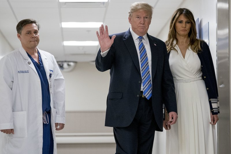 Donald Trump, Melania Trump, Igor Nichiporenko