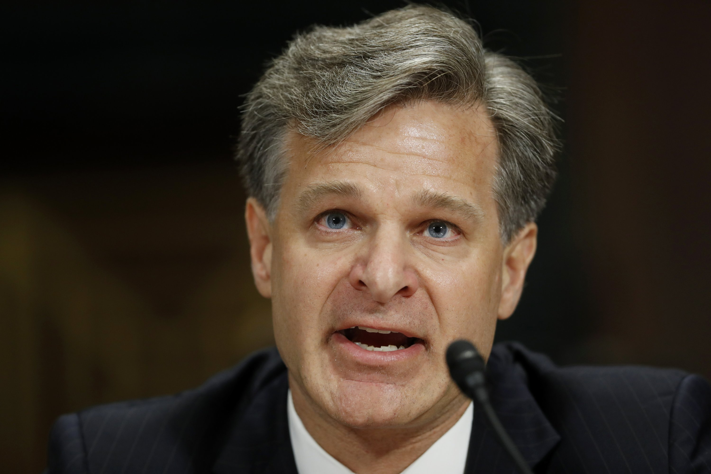 Trump's FBI pick says he'll focus on the law, not politics
