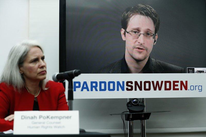 Edward Snowden, Dinah PoKempner