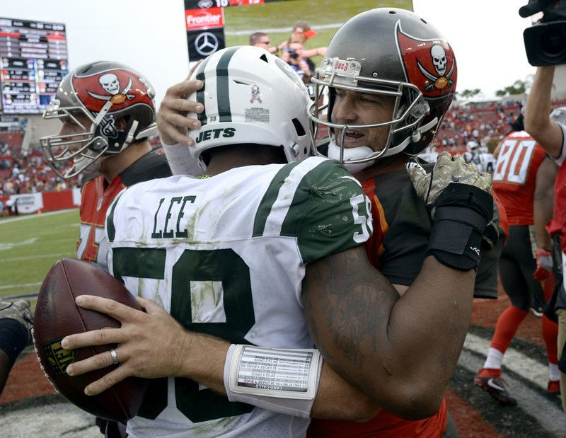 Darron Lee, Ryan Fitzpatrick