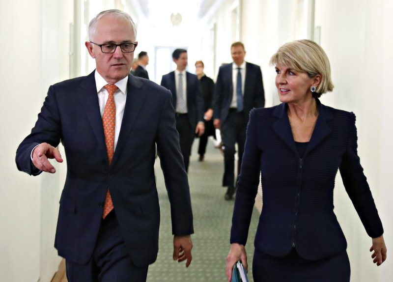 Malcolm Turnbull, Julie Bishop