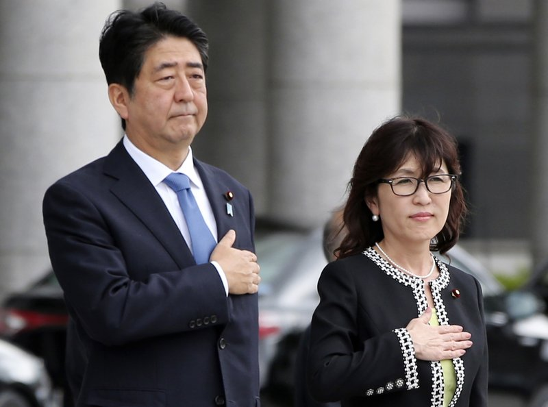 Shinzo Abe, Tomomi Inada