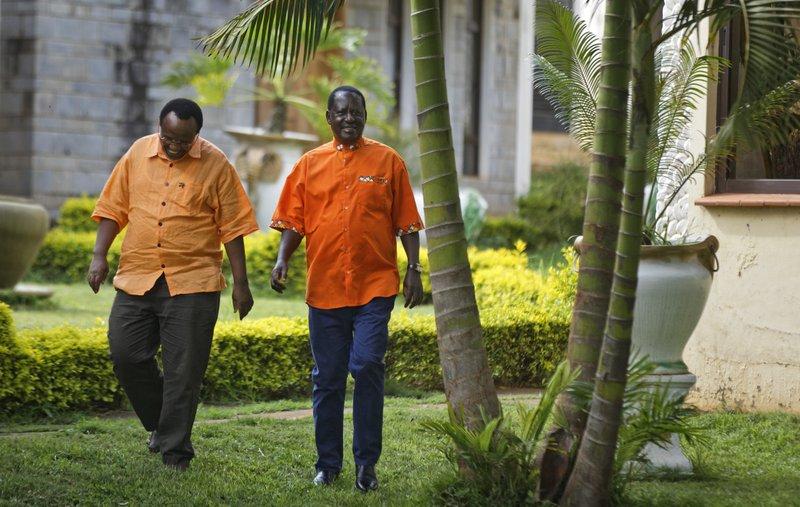 Raila Odinga, David Ndii