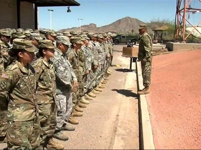Arizona Governor Sends Guard Troops to Border