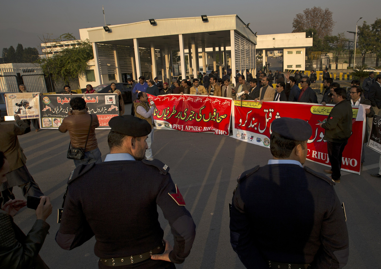Pakistan's journalists complain of increasing censorship