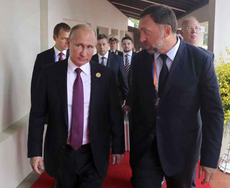 Vladimir Putin, Oleg Deripaska