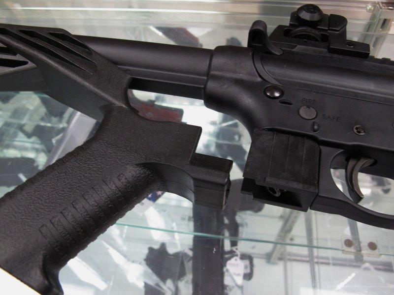 Semiautomatic gun