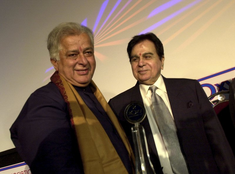 Dilip Kumar, Shashi Kapoor
