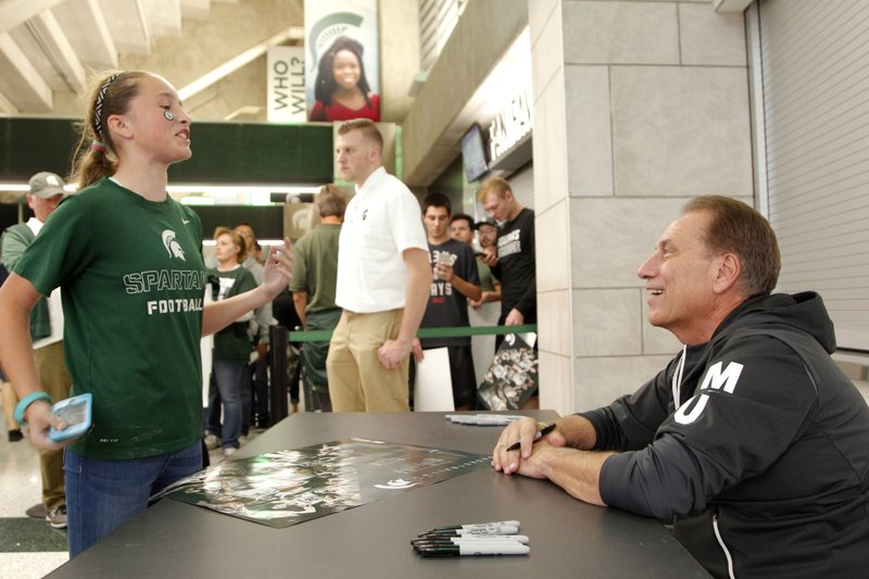 Tom Izzo, Abby Griffith