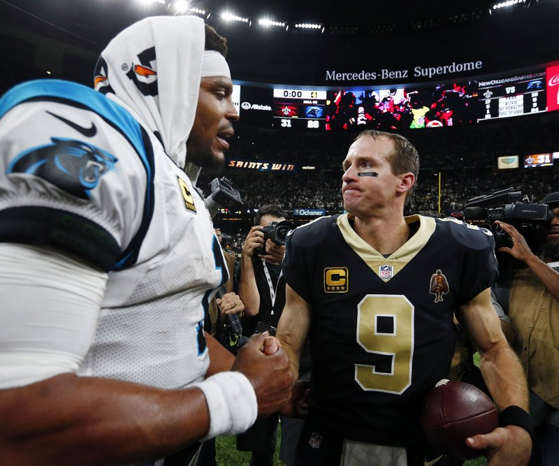 Drew Brees, Cam Newton