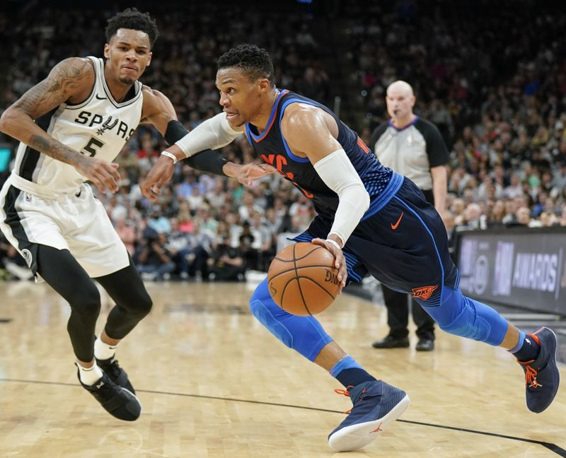 Dejounte Murray, Russell Westbrook