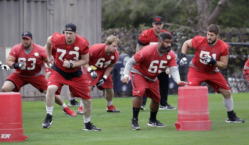 Falcons C Alex Mack Ready To Go In Super Bowl